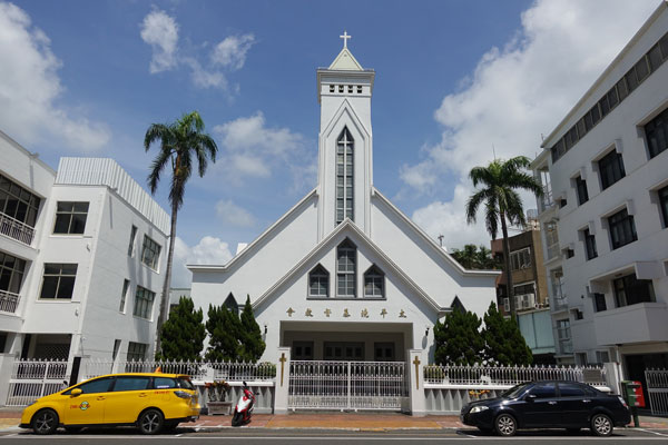 Tainan Sehenswürdigkeiten Thai peng Maxwell Memorial Church