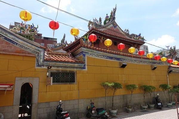 Tainan Sehenswürdigkeiten Tianggong Tempel
