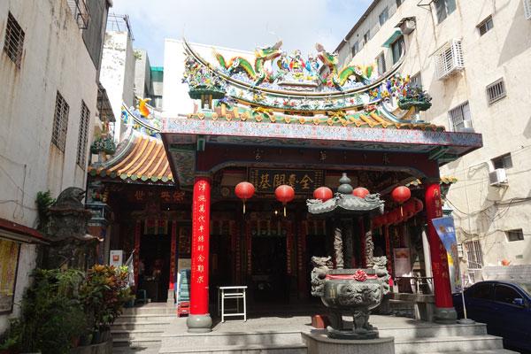 Tainan Sehenswürdigkeiten Yonghua Tempel