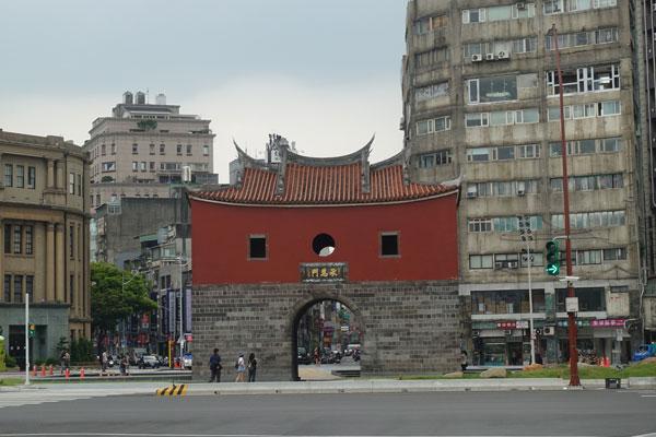 Taipei Sehenswürdigkeiten Beimen Northgate