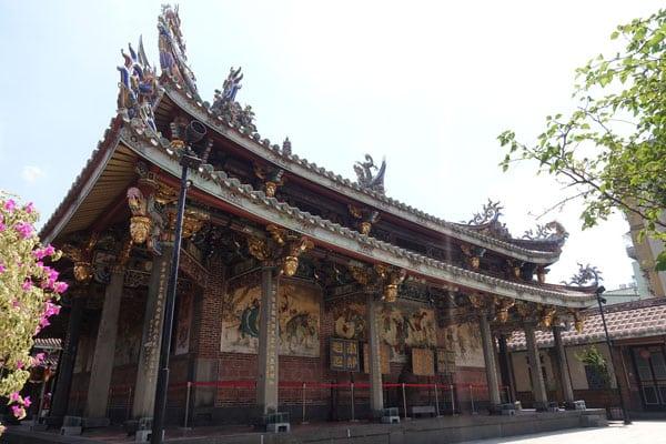 Taipei Sehenswürdigkeiten Dalongdong Baoan Tempel