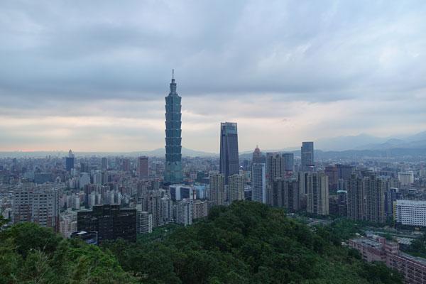 Taipei Sehenswürdigkeiten Elephant Mountain