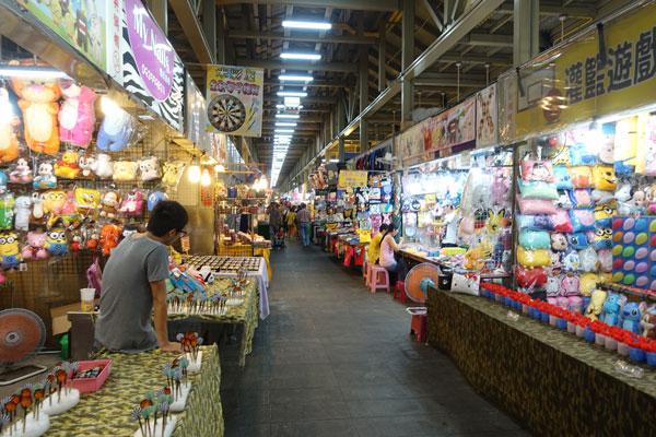 Taipei Sehenswürdigkeiten Shilin Tourist Nightmarket