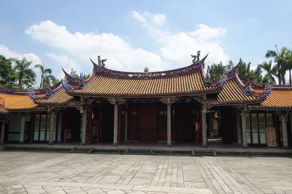 Taipei Sehenswürdigkeiten Taipei Confuzius Tempel