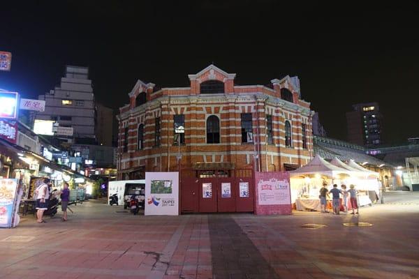 Taipei Sehenswürdigkeiten Ximen Red House