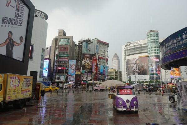 Taipei Sehenswürdigkeiten Ximen Shoppingviertel