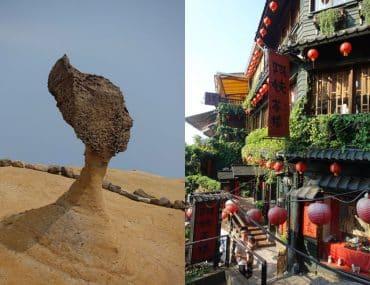 Yehliu Geopark Tagesausflug von Taipeh Beitragsbild