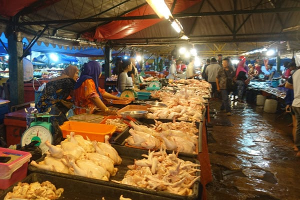 Kota Kinabalu Sehenswürdigkeiten KK Food Market
