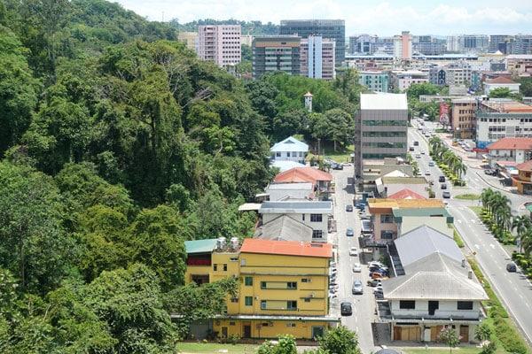 Kota Kinabalu Sehenswürdigkeiten KK Signal Hill Observatory