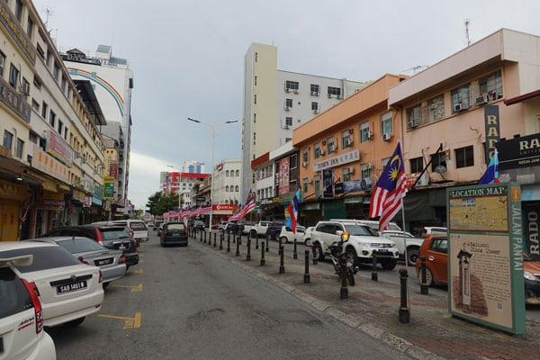 Kota Kinabalu Sehenswürdigkeiten KK Stadtbild