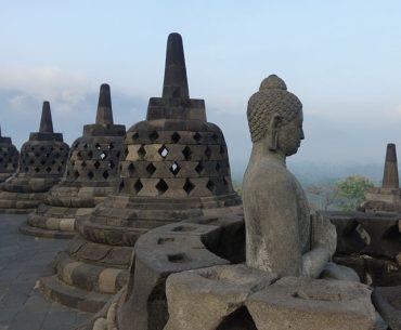 Borobudur – das bedeutendste buddhistische Bauwerk in Indonesien