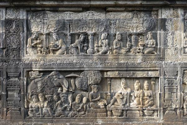 Borobudur-Tempel-bei-Yogyakarta