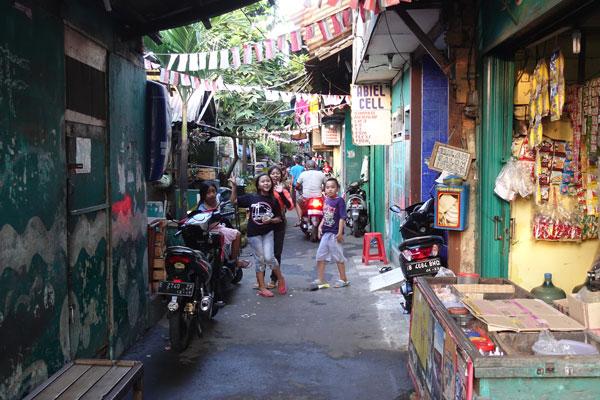 Jakarta Sehenswürdigkeiten Altstadt Jakarta Oldtown Stadtbild