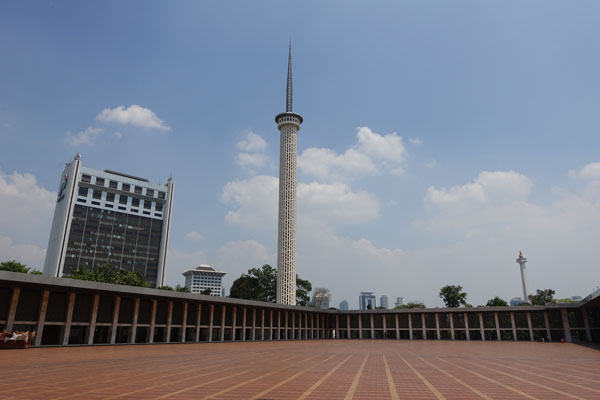 Jakarta Sehenswürdigkeiten Istiqlal Moschee