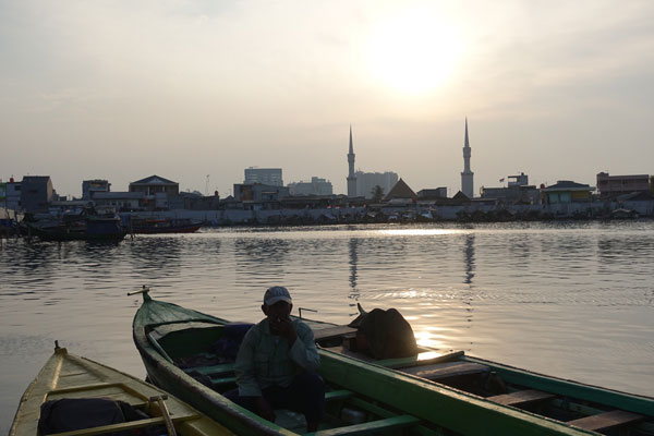 Jakarta Sehenswürdigkeiten Oldtown Old harbour Hafen