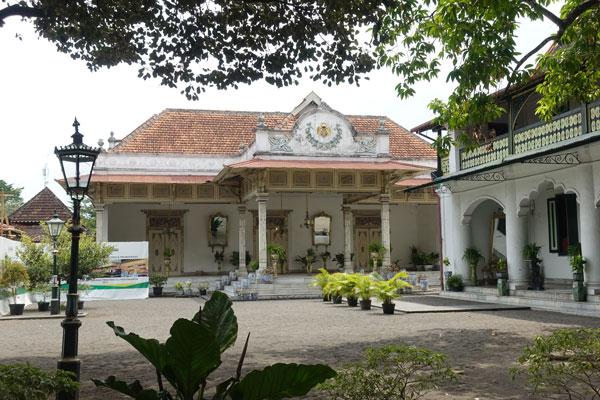 Yogyakarta Sehenswürdigkeiten Kraton Sultanspalast