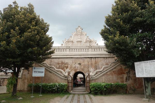Yogyakarta Sehenswürdigkeiten Taman Sari Wasserschloss