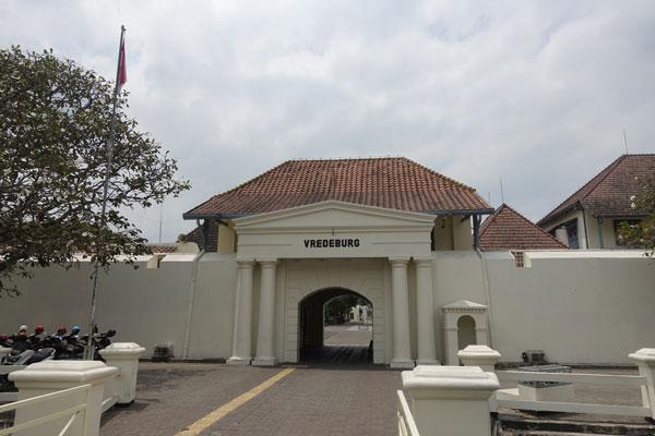 Yogyakarta Sehenswürdigkeiten Vredeburg Fort und Museum