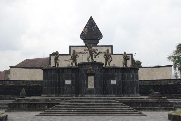 Yogyakarta Sehenswürdigkeiten Vredeburg Fort und Museum Monument Widerstandskämpfer
