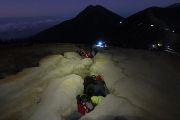 Bergarbeiter Tour Mount Ijen