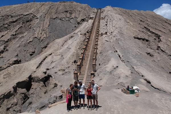 Besteigung Mount Bromo