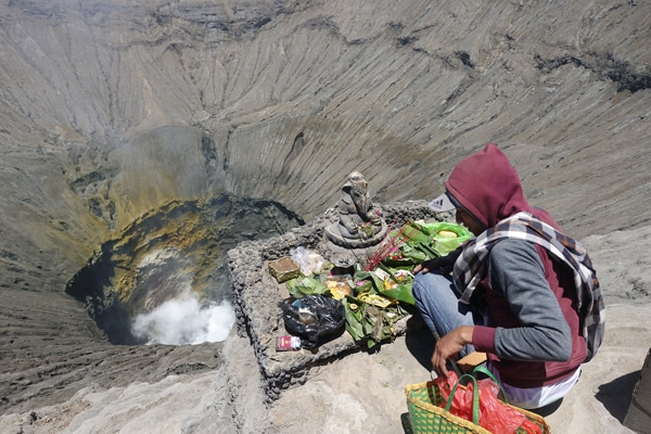 Krater Mount Bromo
