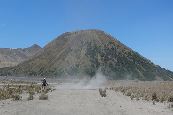 Mount Bromo Weg durch die Sandwüste