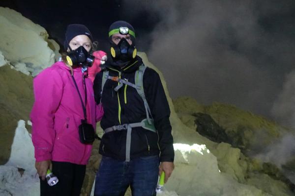 blaue Flammen Tour Mount Ijen
